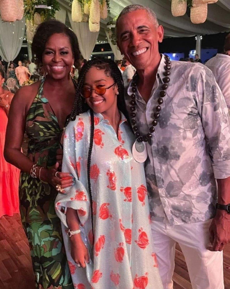Barack Obama nın tepki çeken doğum günü partisi #2