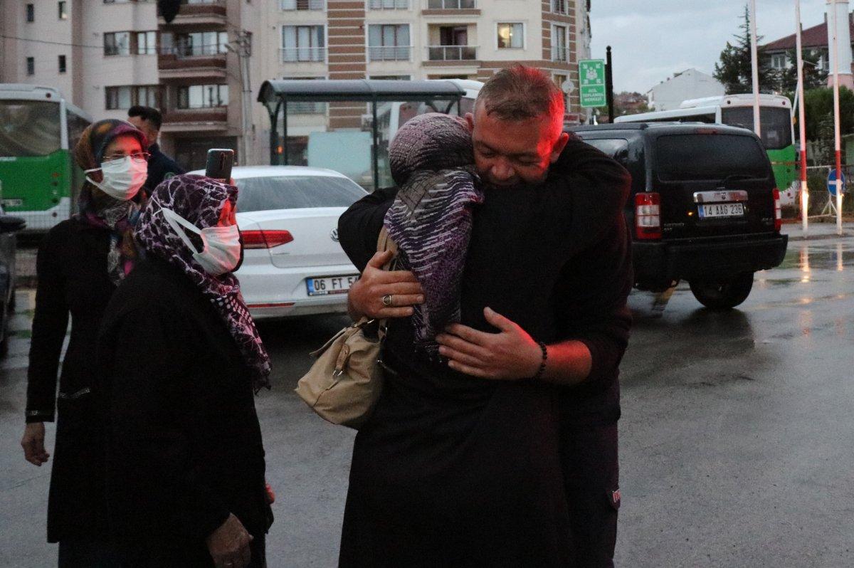 Manavgat ta görev alan Bolulu itfaiyeciler evlerine döndü #2