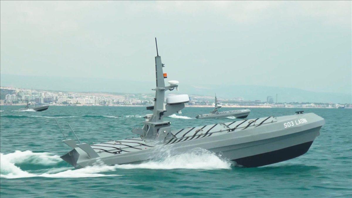 Türkiyenin insansız deniz araçları göreve hazırlanıyor