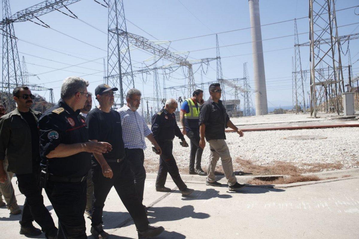Kemerköy Termik Santrali yeniden devreye alındı #1