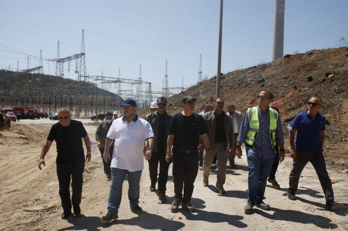 Kemerköy Termik Santrali yeniden devreye alındı #2