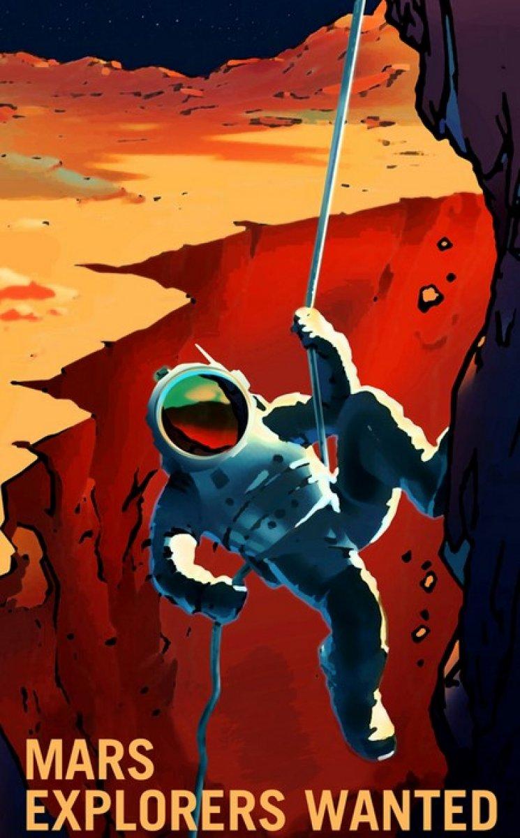 NASA, Mars simülasyonları için aday arıyor #1
