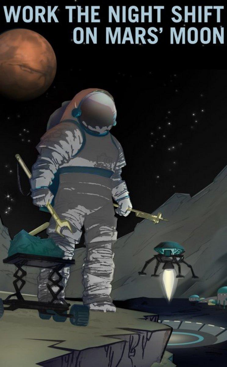 NASA, Mars simülasyonları için aday arıyor #2