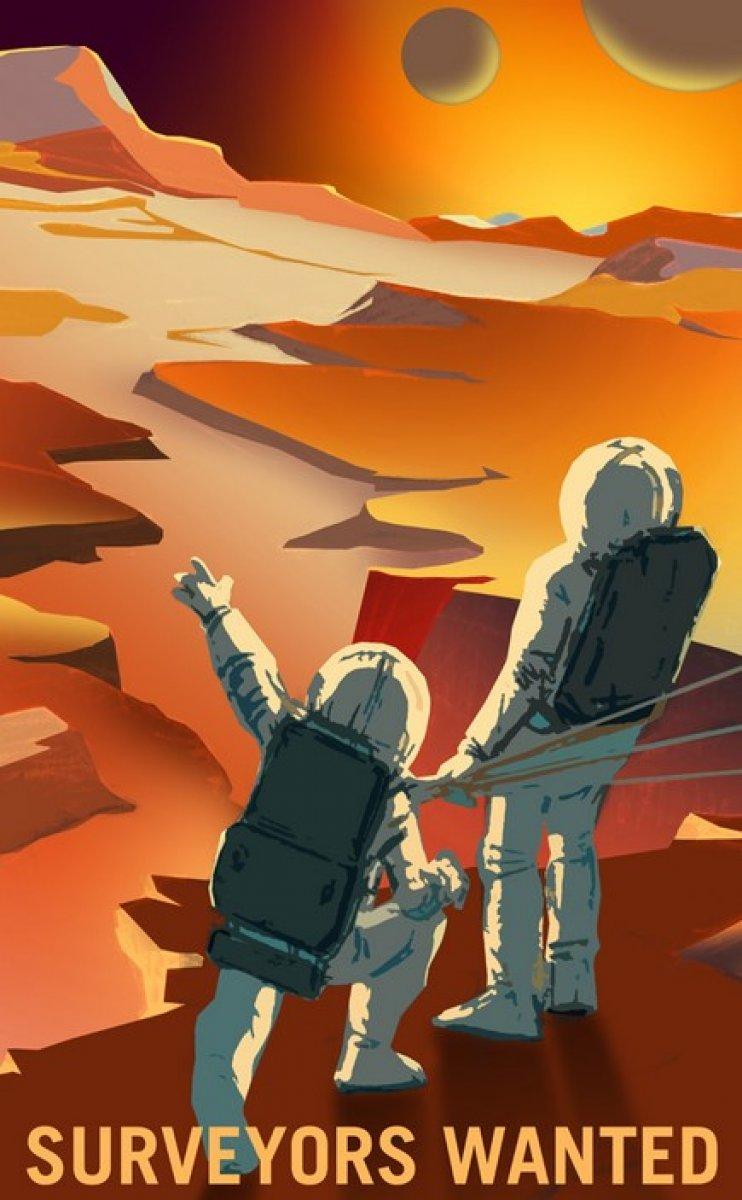 NASA, Mars simülasyonları için aday arıyor #4