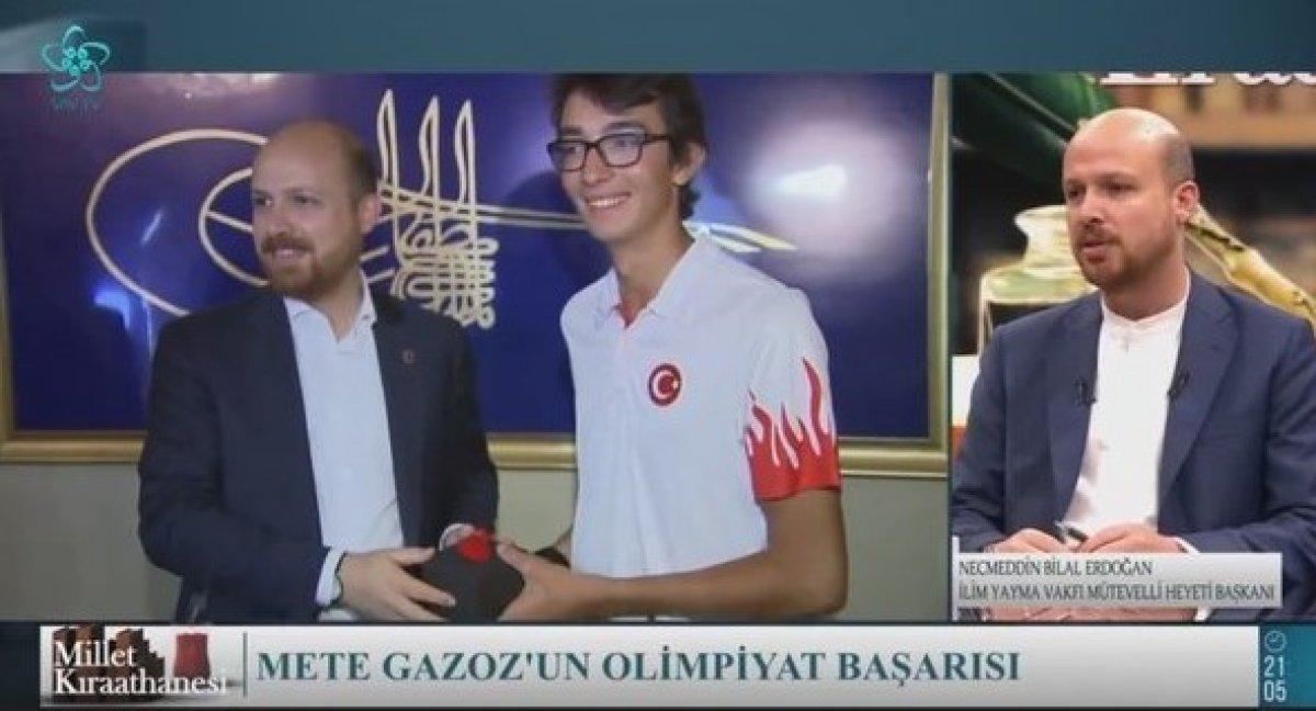 Bilal Erdoğan: Mete Gazoz ile olimpiyatlarda yeni bir madalya kapısı aralandı #3