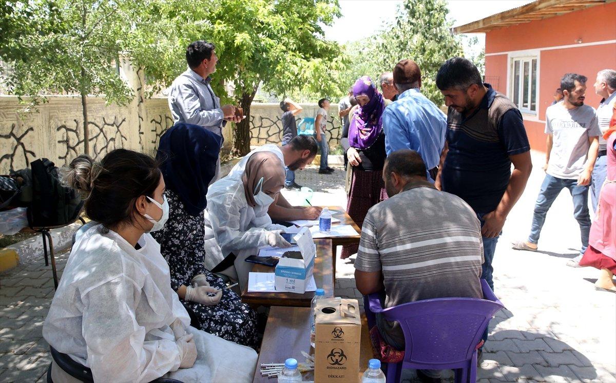 Muş ta aşı timleri, en ücra köylere aşı ulaştırıyor #9