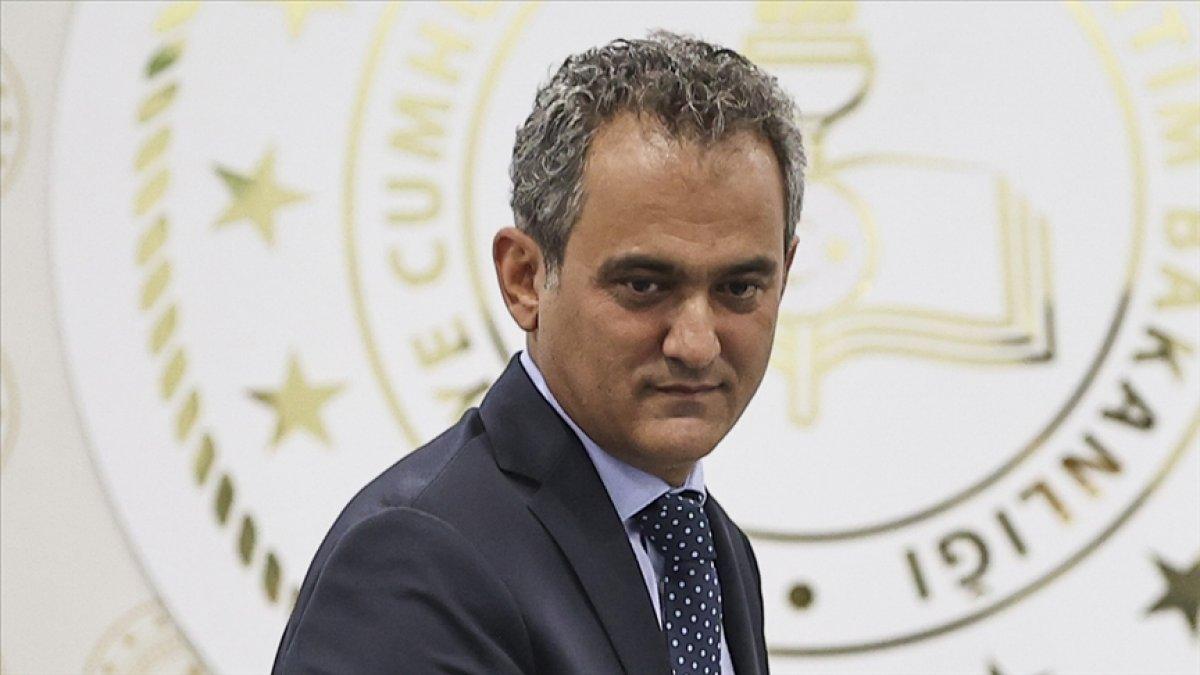 Milli Eğitim Bakanı Mahmut Özer'den fidan bağışı çağrısı  #1