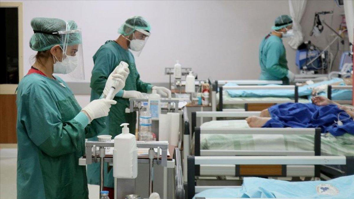 Antalya da sağlık çalışanlarının yıllık izinleri iptal #1