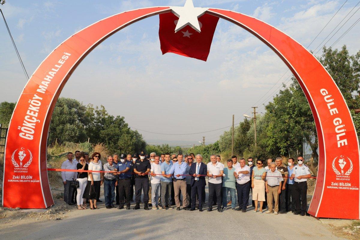 CHP li Saruhan Belediyesi nden heykel açılışı #2
