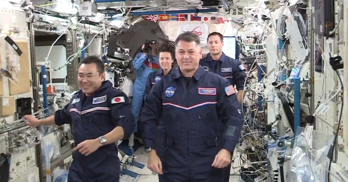 Uluslararası Uzay İstasyonu nda uzay oyunları yapıldı #2