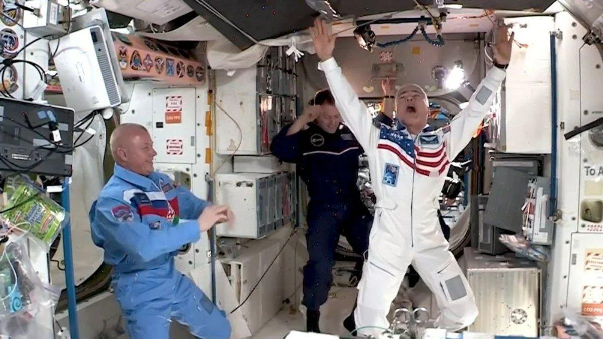 Uluslararası Uzay İstasyonunda uzay oyunları yapıldı