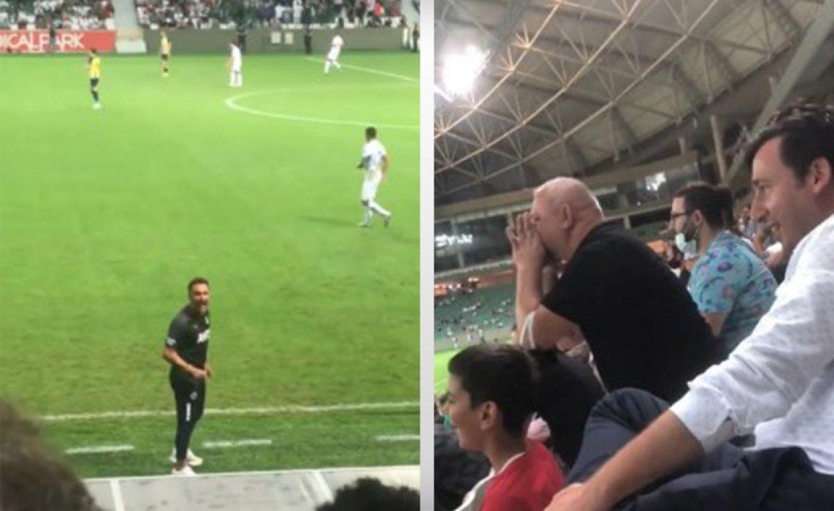 Vitor Pereira ve taraftar arasında  taktik  tartışması  #1