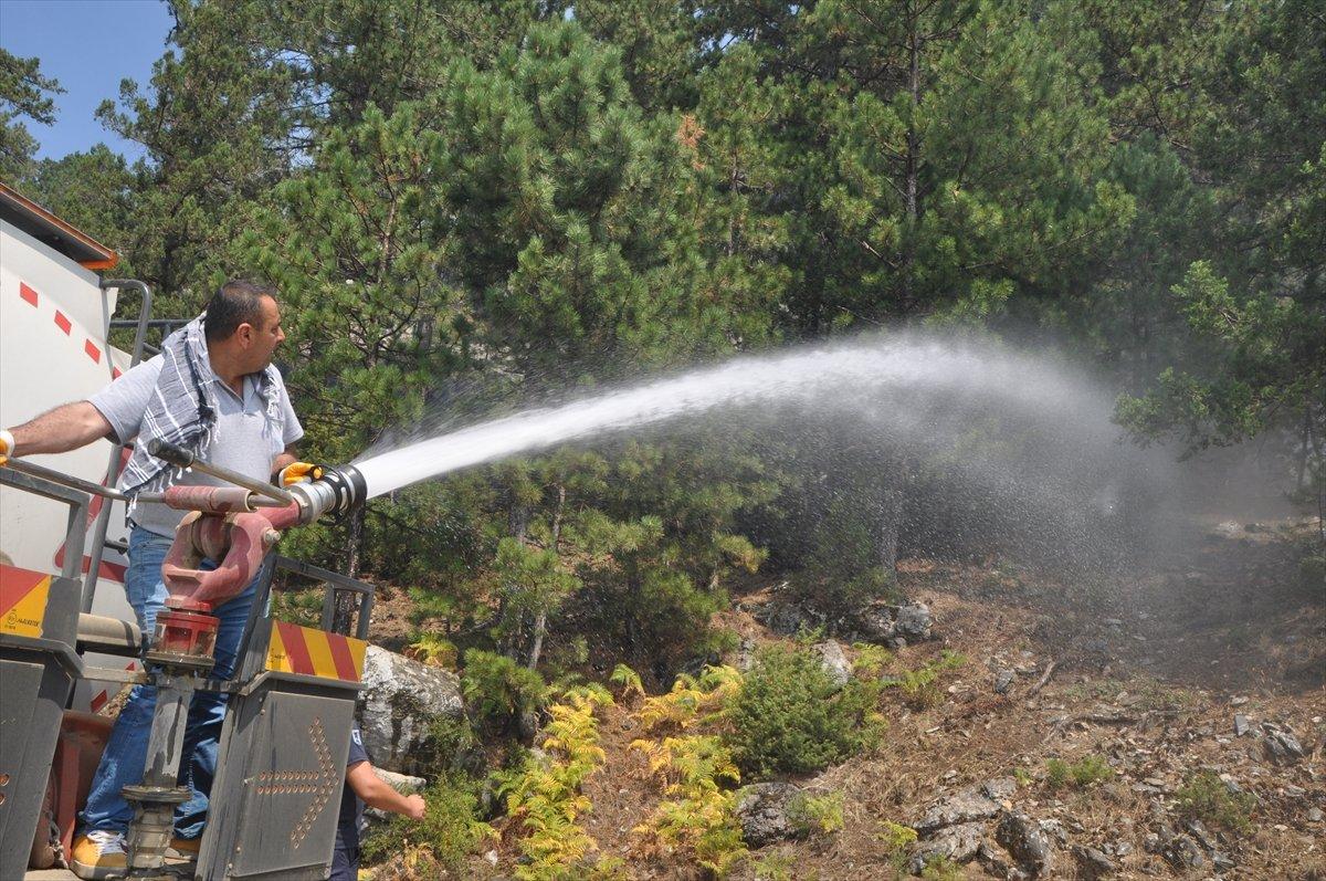 Bekir Pakdemirli: Milas ve Köyceğiz dışında tüm yangınlar kontrol altında #5