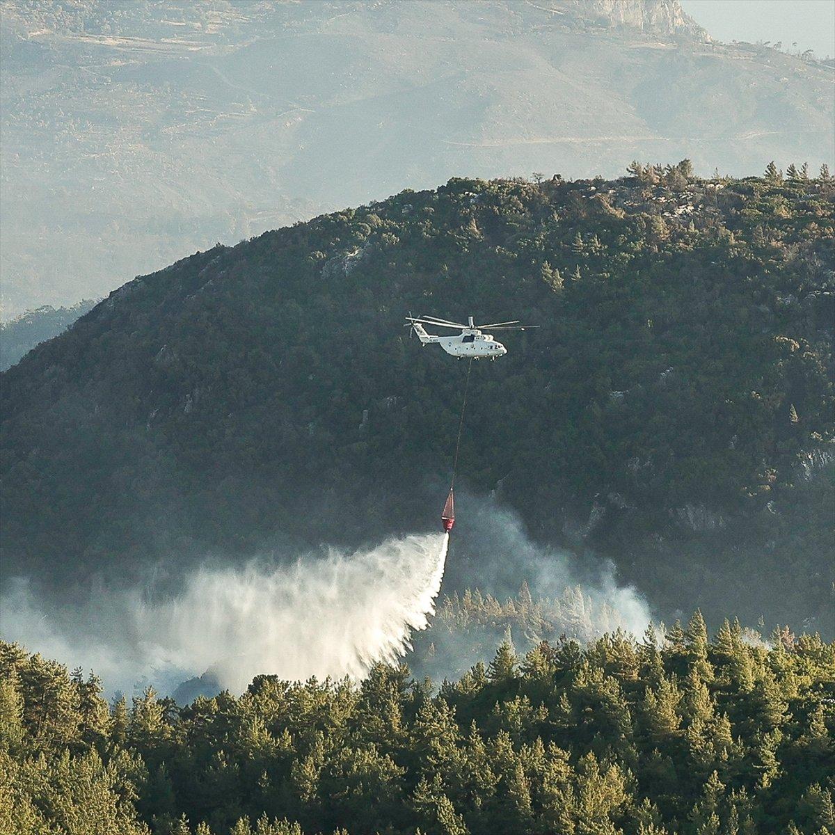 Bekir Pakdemirli: Milas ve Köyceğiz dışında tüm yangınlar kontrol altında #2