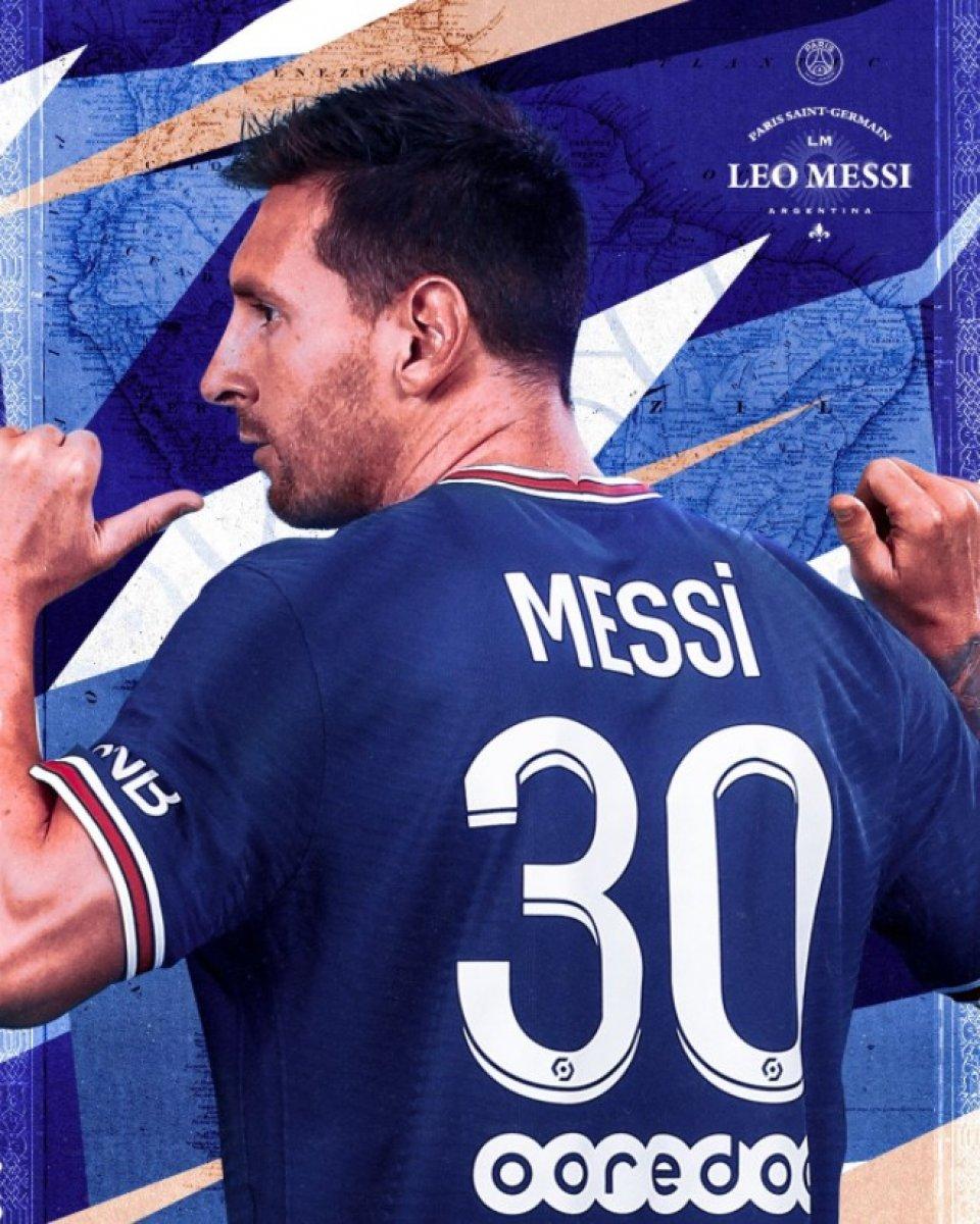 Messi nin forması satışa çıktı #1