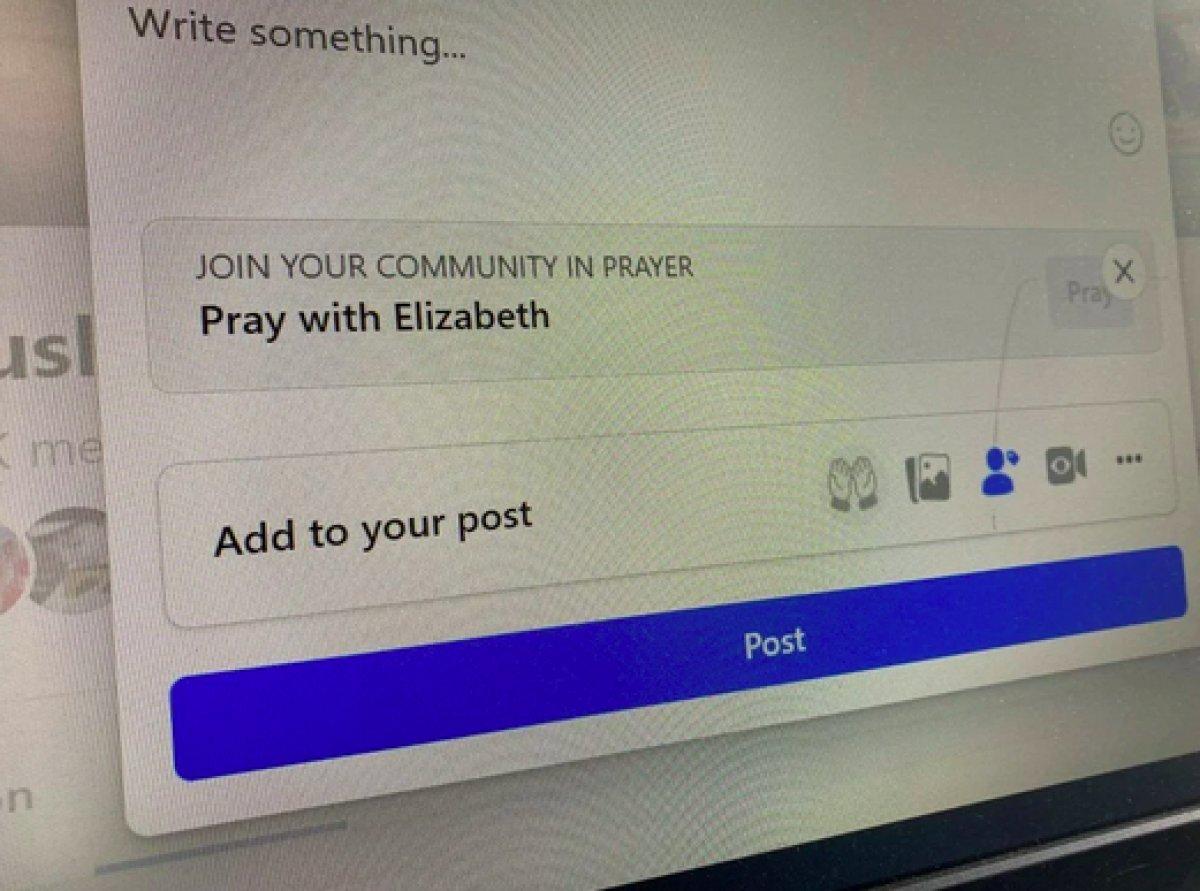 Facebook a dua etme butonu eklendi #1