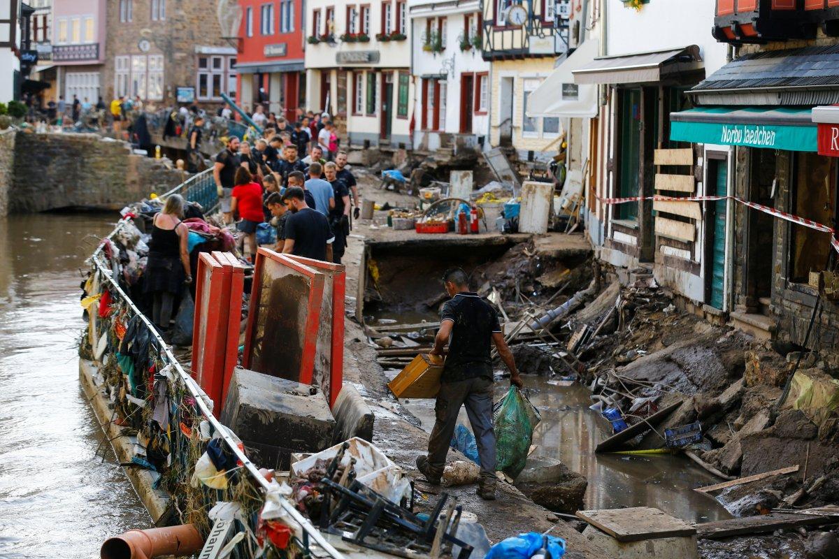 Almanya da sel sonrası yapılanma için 30 milyar euro ayrıldı #6