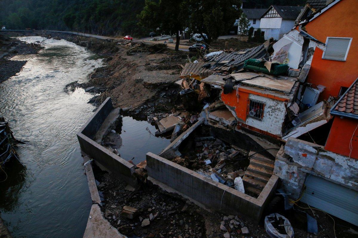 Almanya da sel sonrası yapılanma için 30 milyar euro ayrıldı #3
