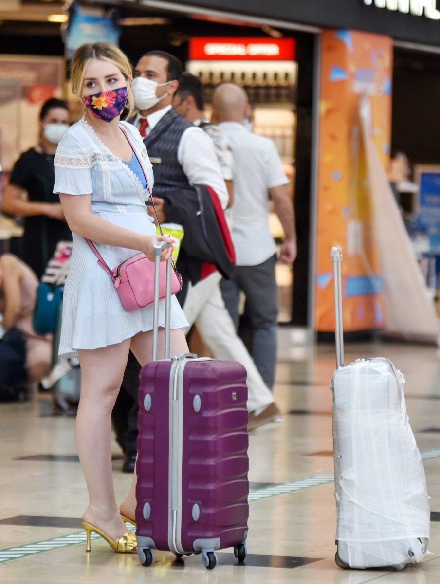 Antalya 7 ayda 3 milyon 396 bin turist ağırladı #1