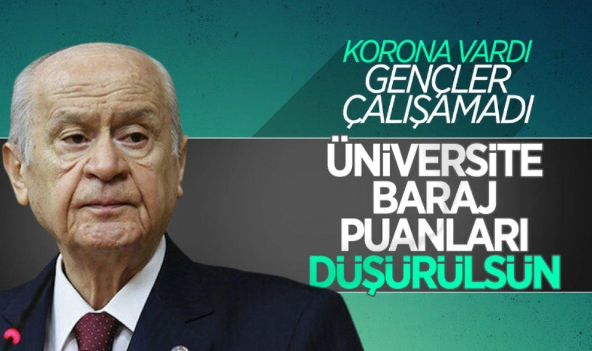 Cumhurbaşkanı Erdoğan: YKS baraj puanı düştü #1