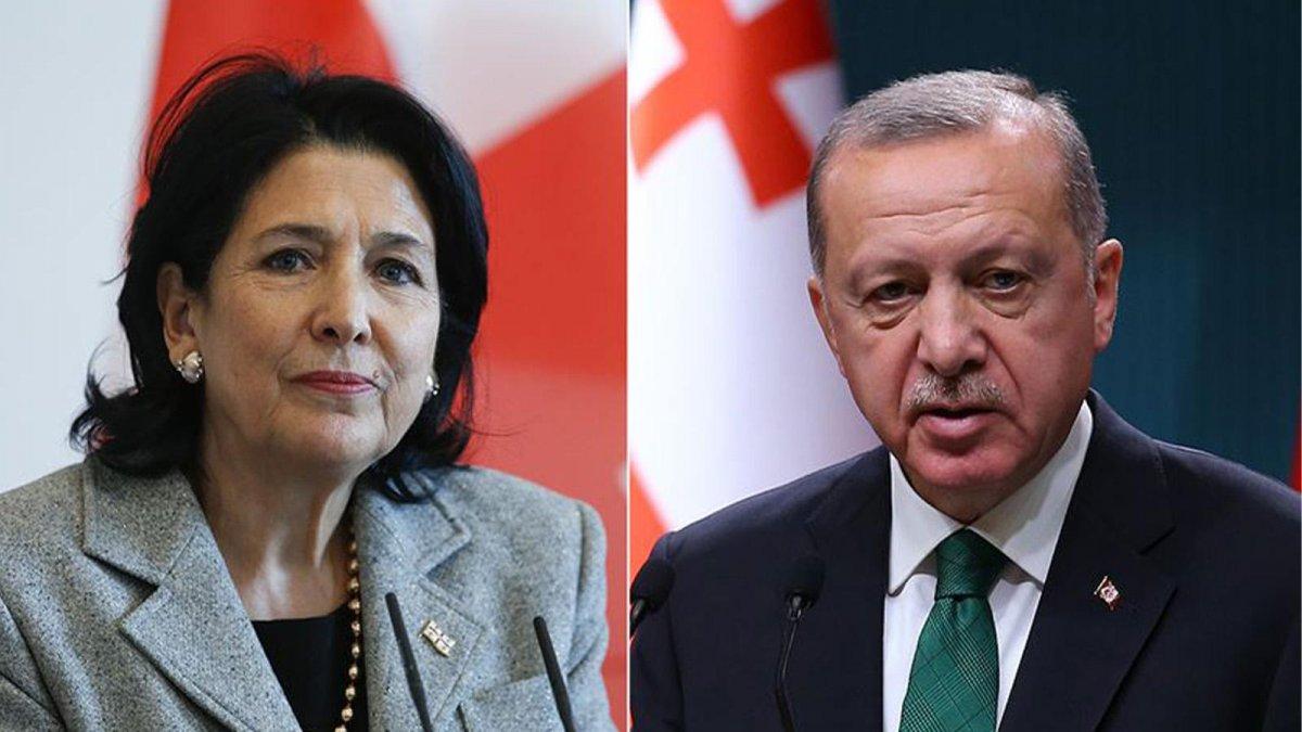 Cumhurbaşkanı Erdoğan, liderlerle telefonda görüştü #1