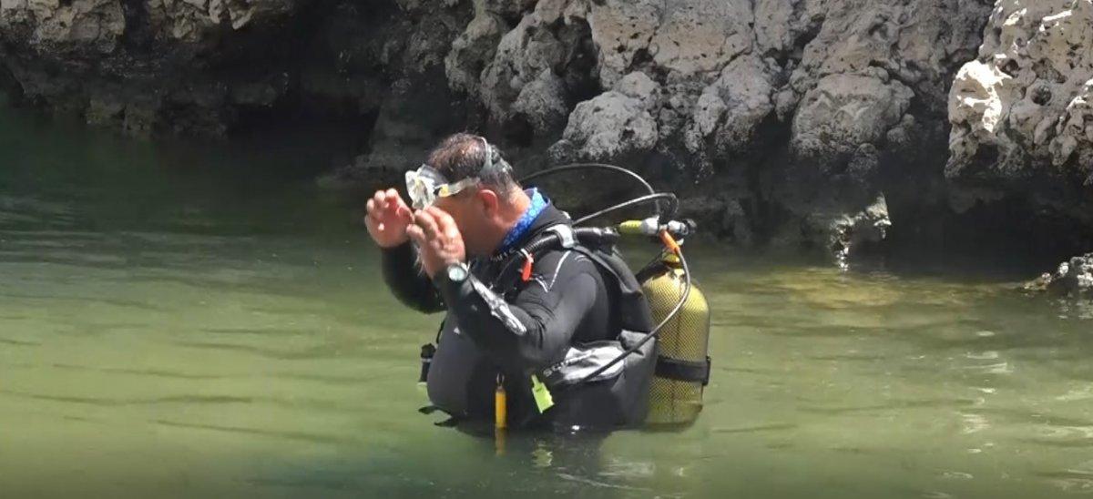 Van Gölü'nde, odaları ve penceresi olan su altı mağarası keşfedildi  #5