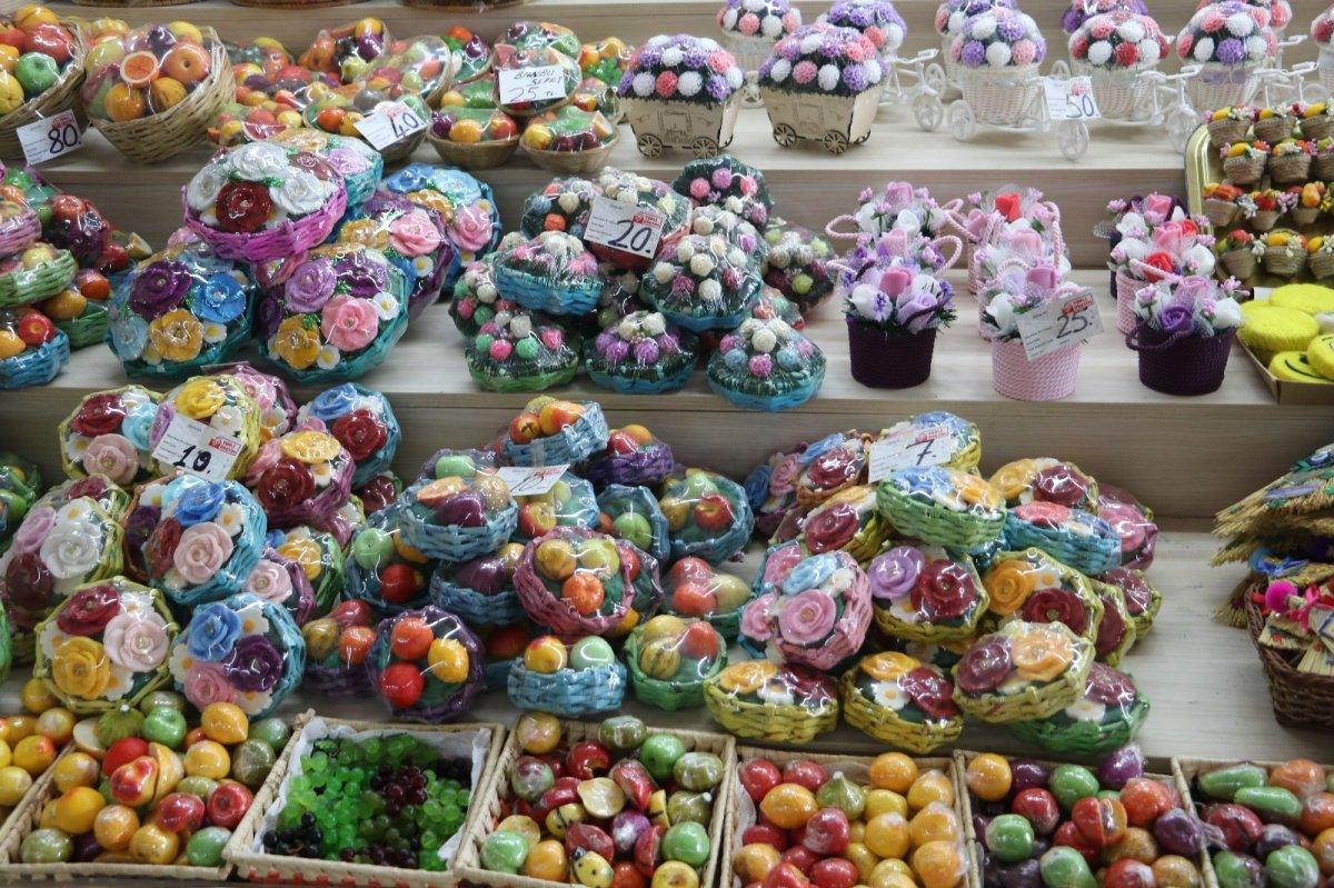 Edirne de mis kokulu meyve sabunları tekrar canlandı #3