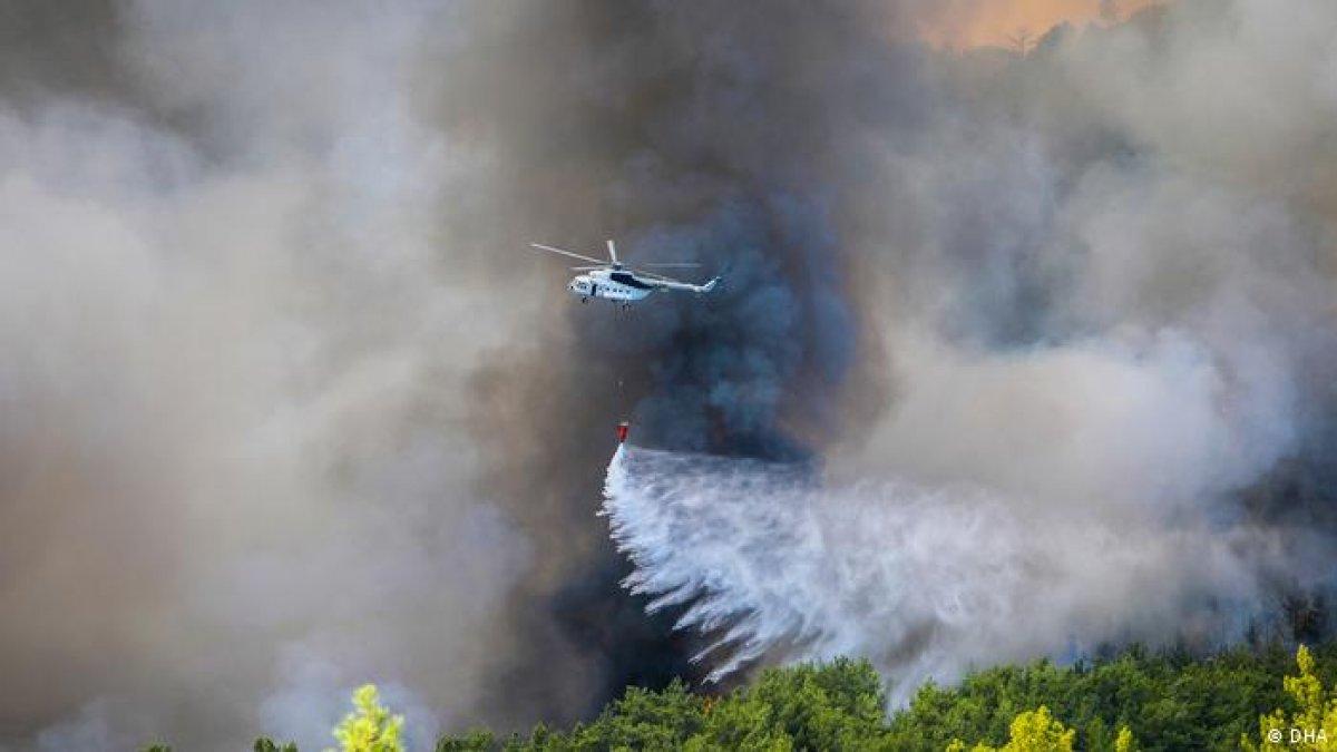 Muğla Milas yangını kontrol altına alındı #3