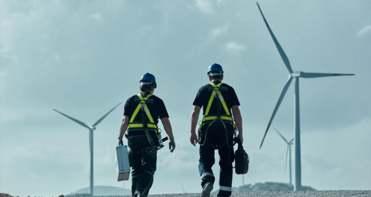 Rüzgar enerjisi kurulu gücümüz 10 bin megavatı aştı #1