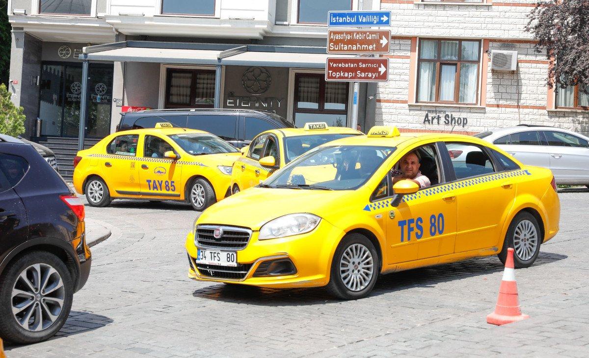 Taksiciler ve müşteriler arasında  ücretli yol  meselesi #2