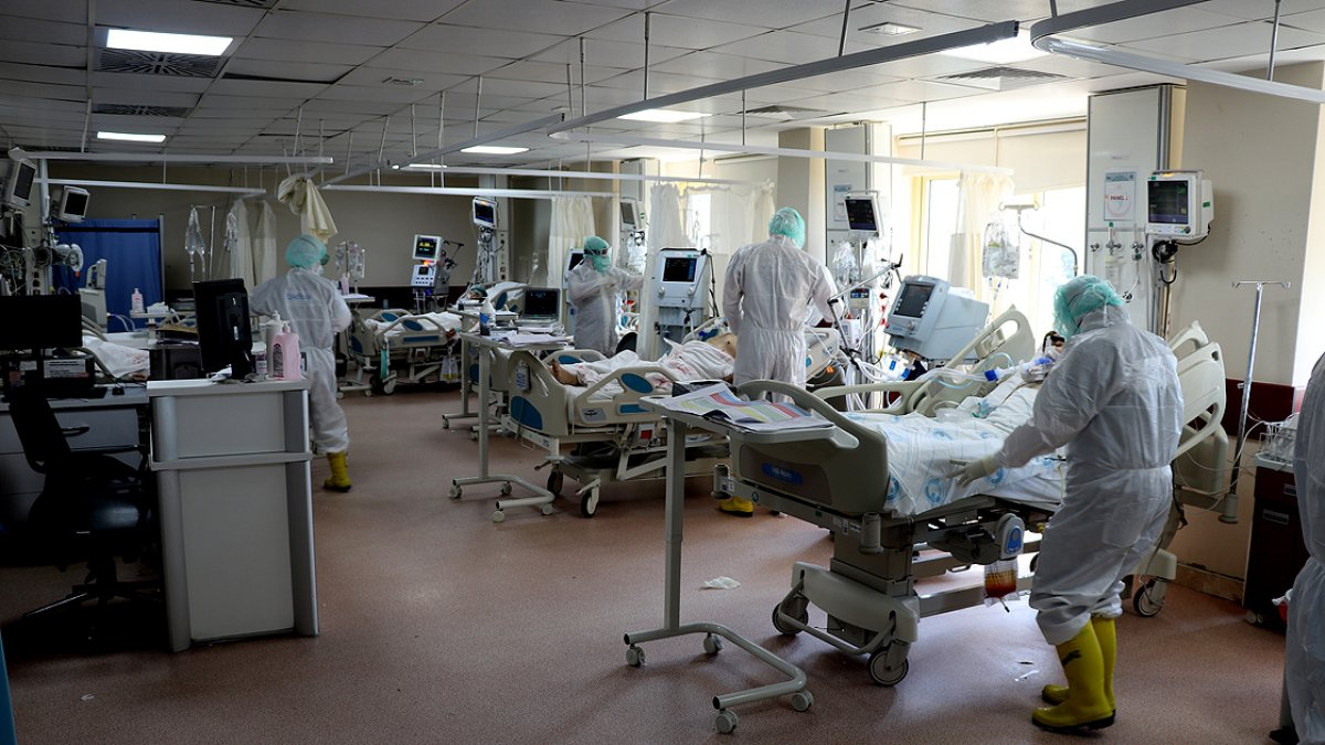 Prof. Dr. Ata Nevzat Yalçın: Yoğun bakım doluluk oranı arttı #1