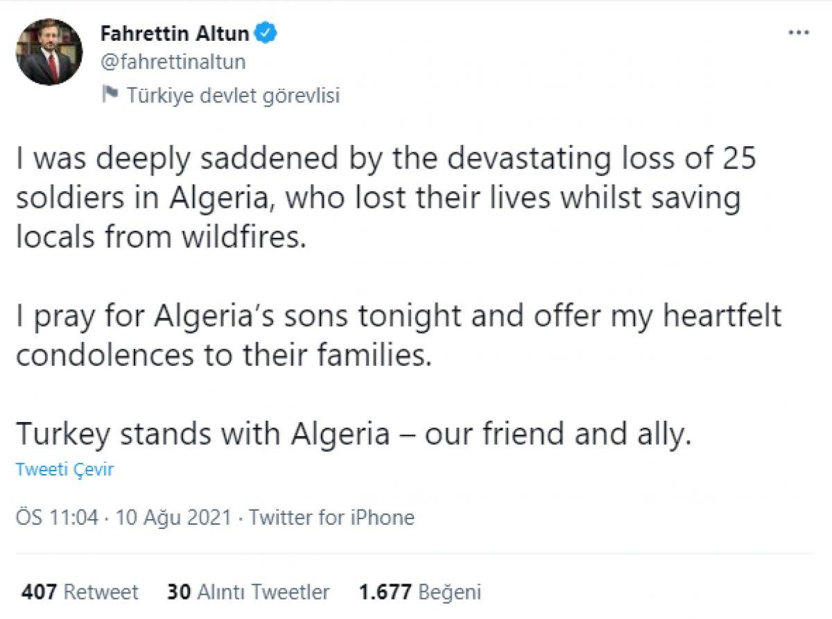 Cezayir deki yangınlarda 42 kişi hayatını kaybetti #5