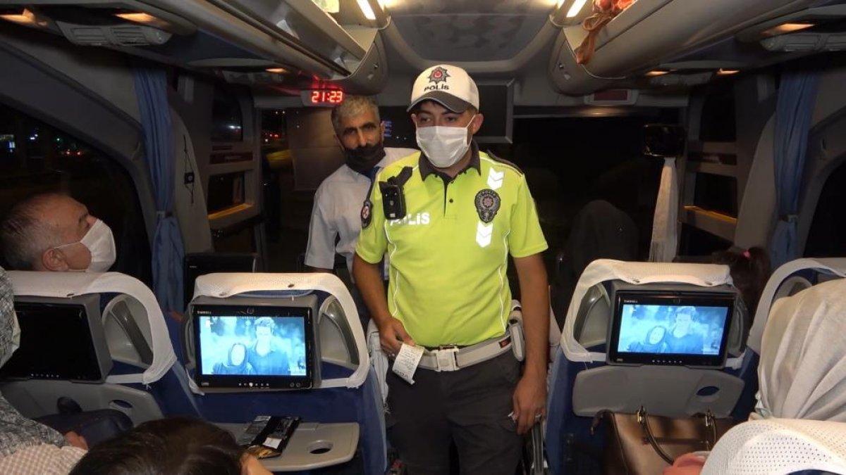 Kırıkkale de otobüs denetimleri sıklaştırıldı #4
