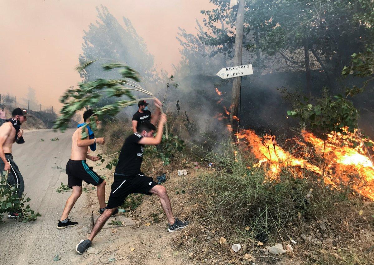 Mevlüt Çavuşoğlu ndan Cezayirli mevkidaşına yangınlarda ölenler için taziye telefonu #1