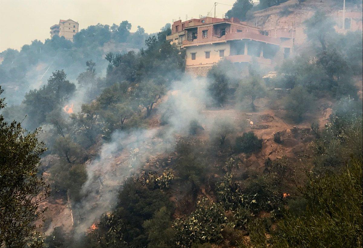 Mevlüt Çavuşoğlu ndan Cezayirli mevkidaşına yangınlarda ölenler için taziye telefonu #2