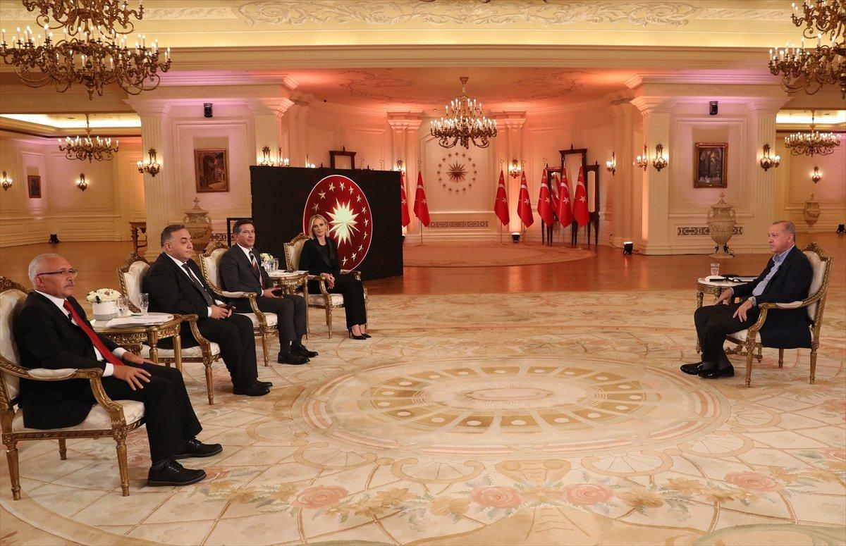 Cumhurbaşkanı Erdoğan: İlk çeyrekte yüzde 7 lik büyüme yakaladık #1