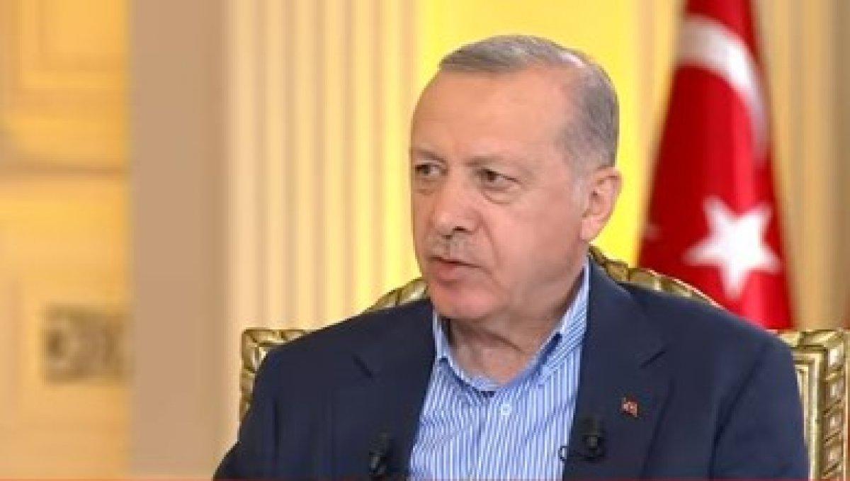 Cumhurbaşkanı Erdoğan dan gündeme ilişkin açıklamalar  #1
