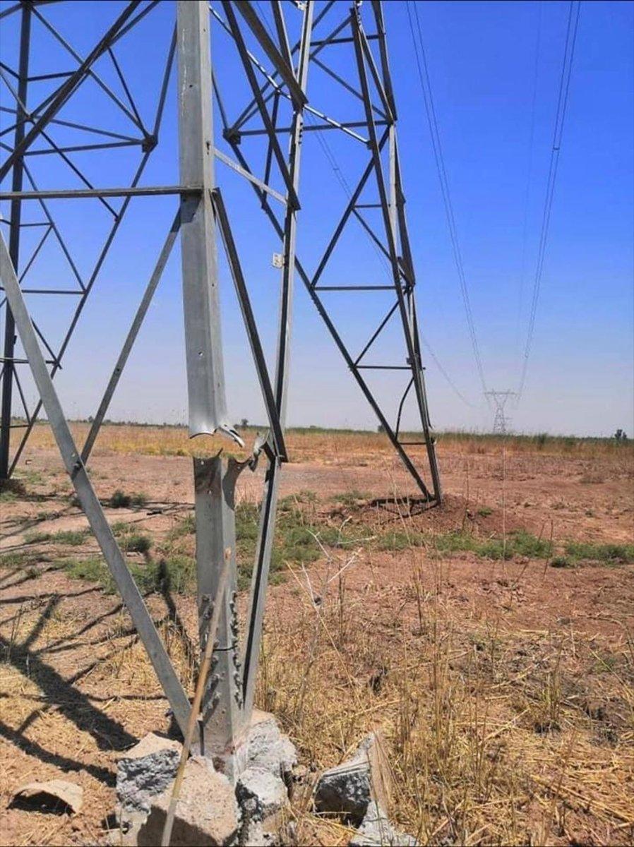 DEAŞ, Kerkük te elektrik hatlarına saldırdı #2