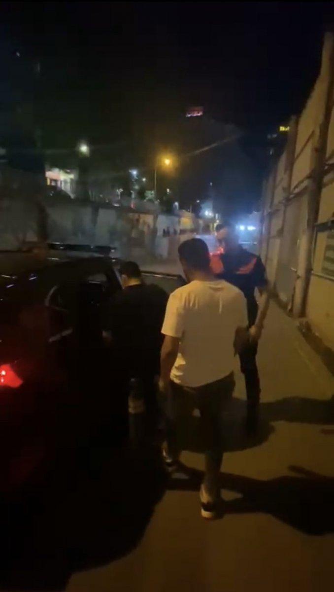 Beyoğlu'nda kaçak göçmen operasyonu #2