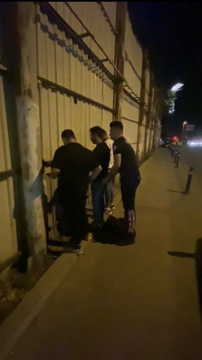 Beyoğlu'nda kaçak göçmen operasyonu #1