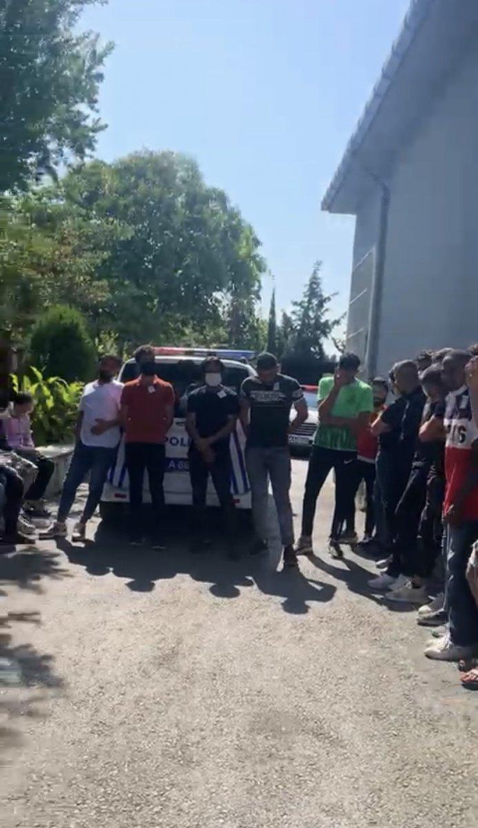 Beyoğlu'nda kaçak göçmen operasyonu #5