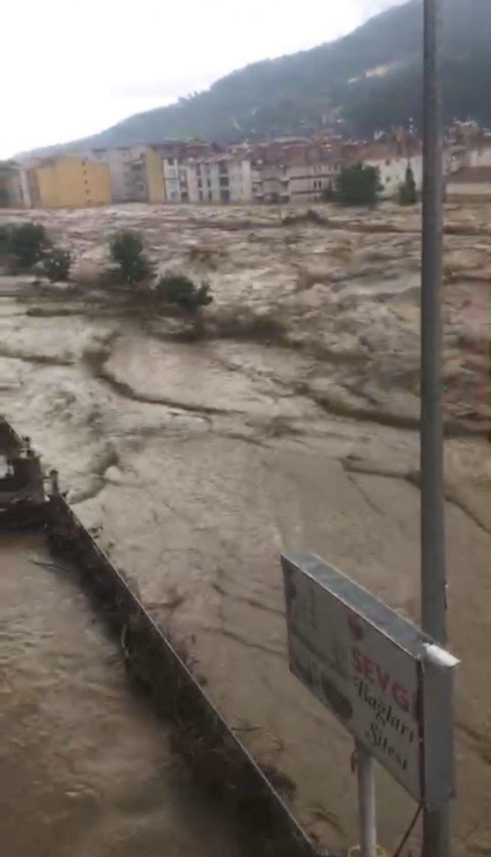 Kastamonu da sel sonrası felaket #7