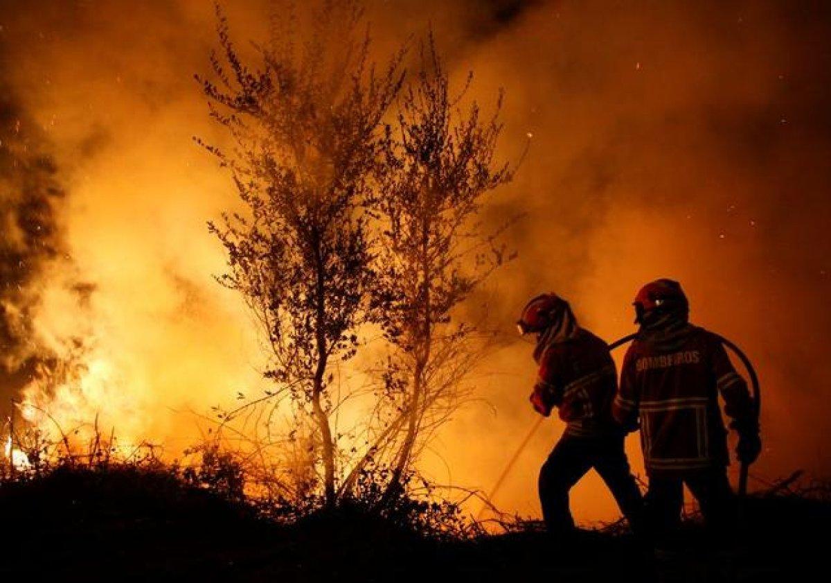 İspanya ve Portekiz de yeni yangın riski #1