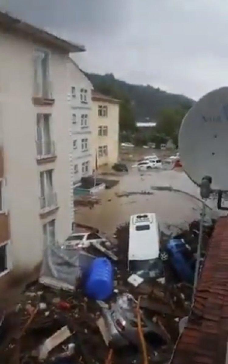 Kastamonu da sel sonrası felaket #5