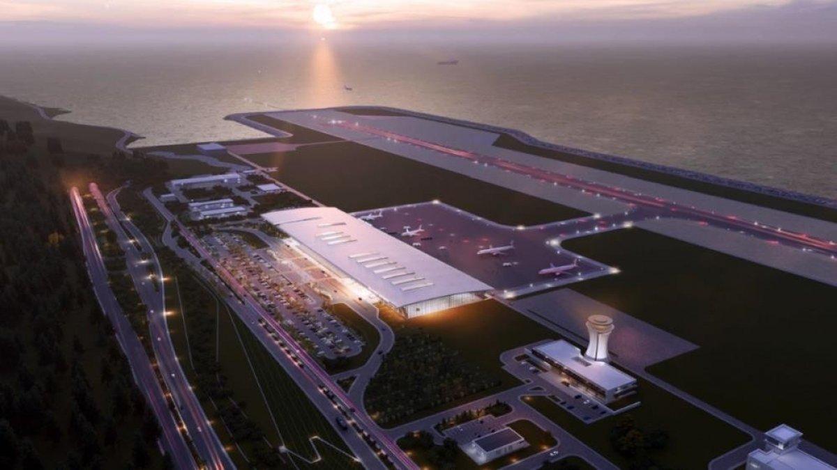Rize-Artvin Havalimanı'nın uçuş kulesi ortaya çıkmaya başladı #4
