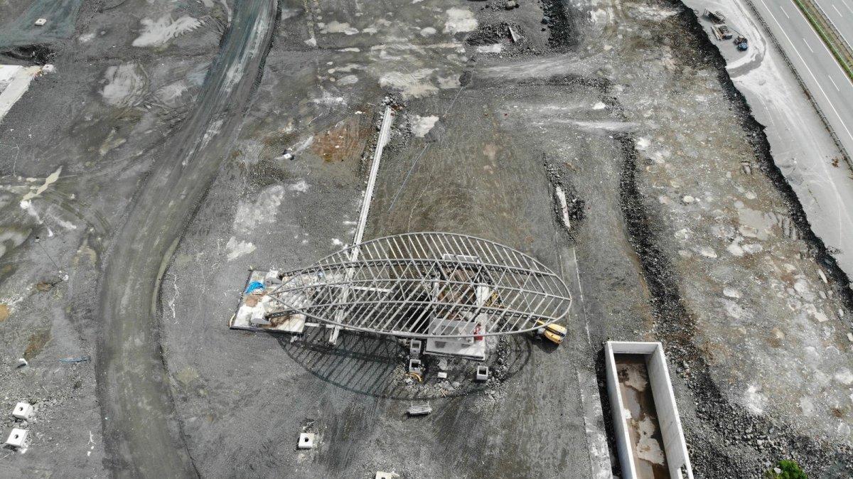 Rize-Artvin Havalimanı'nın uçuş kulesi ortaya çıkmaya başladı #5