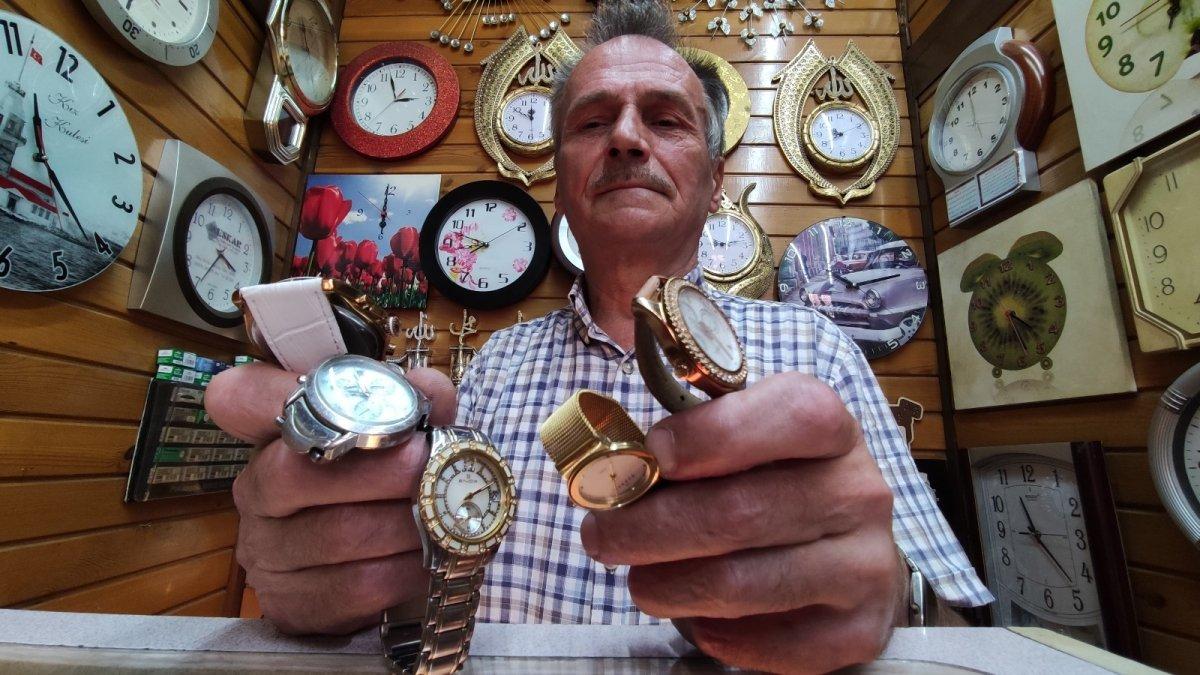 Bursa da yarım asırdır tamir ederek saatlerin ömrünü uzatıyor #2