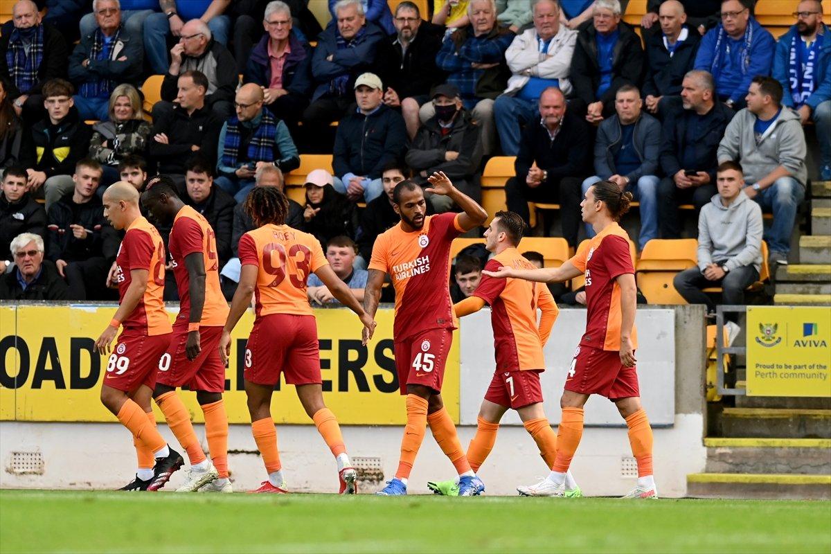 Galatasaray, St Johnstone ı 4-2 yendi #2