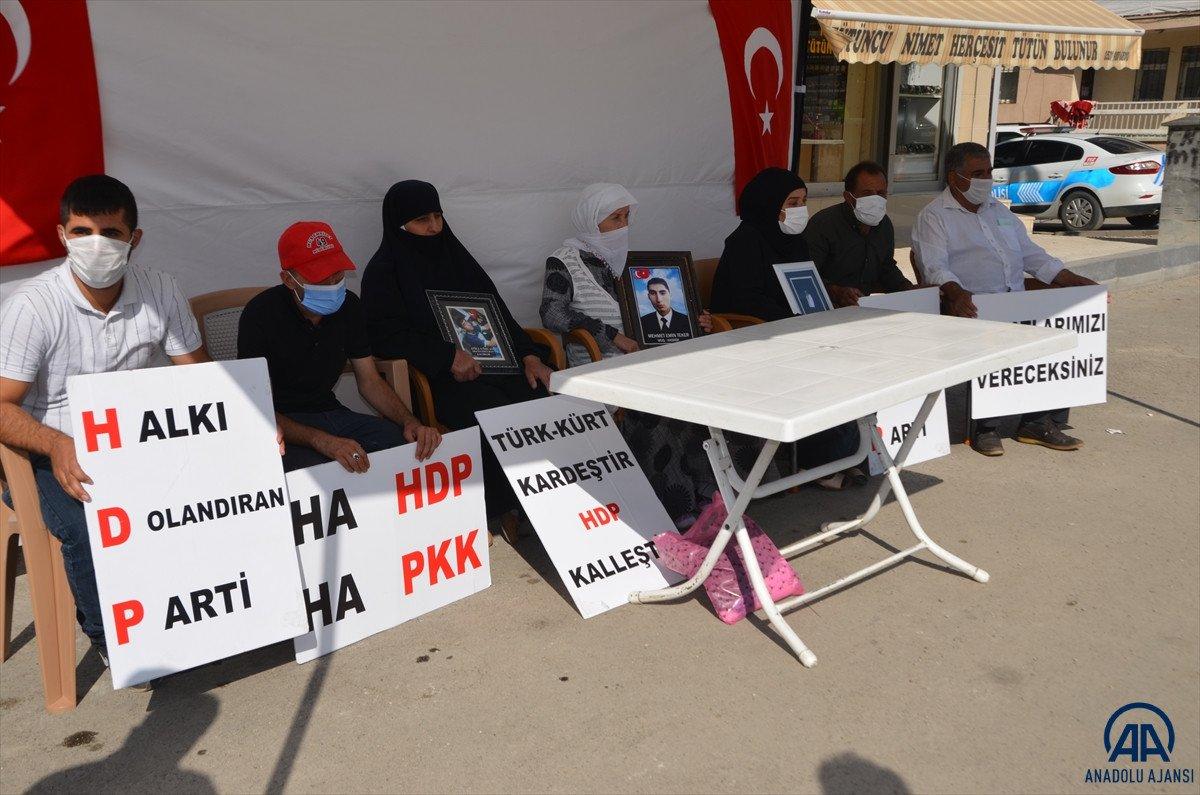 Muş ta anneler HDP il binası önünde evlat nöbeti tutuyor #4