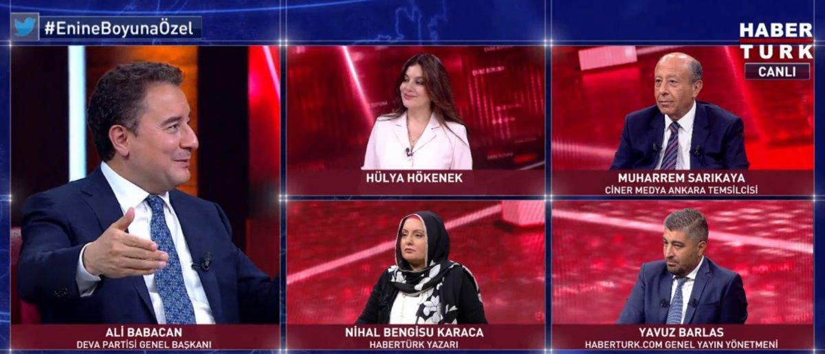 Ali Babacan a Millet İtfifakı sorusu #2